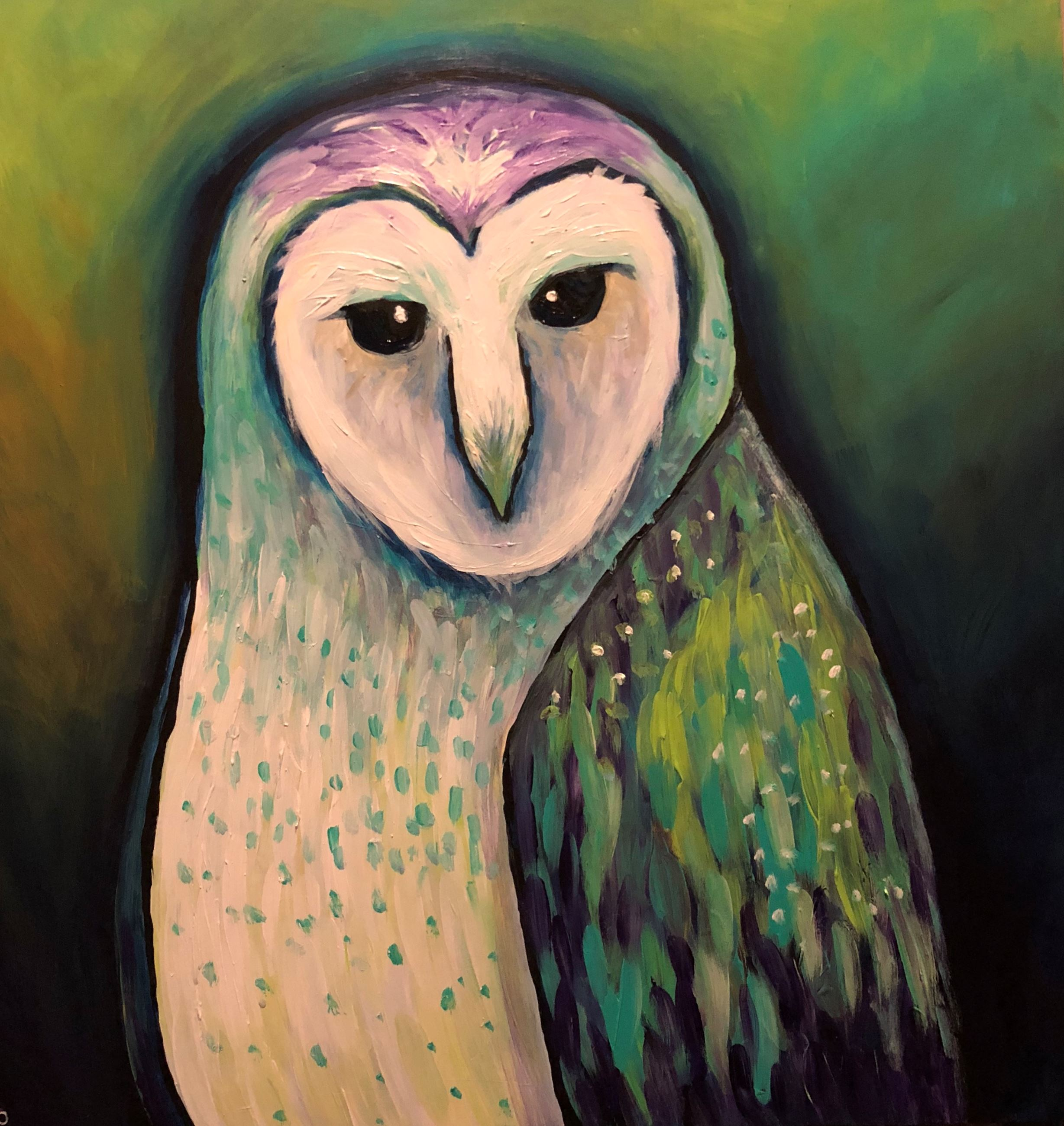 Barn Owl by Susan Peters