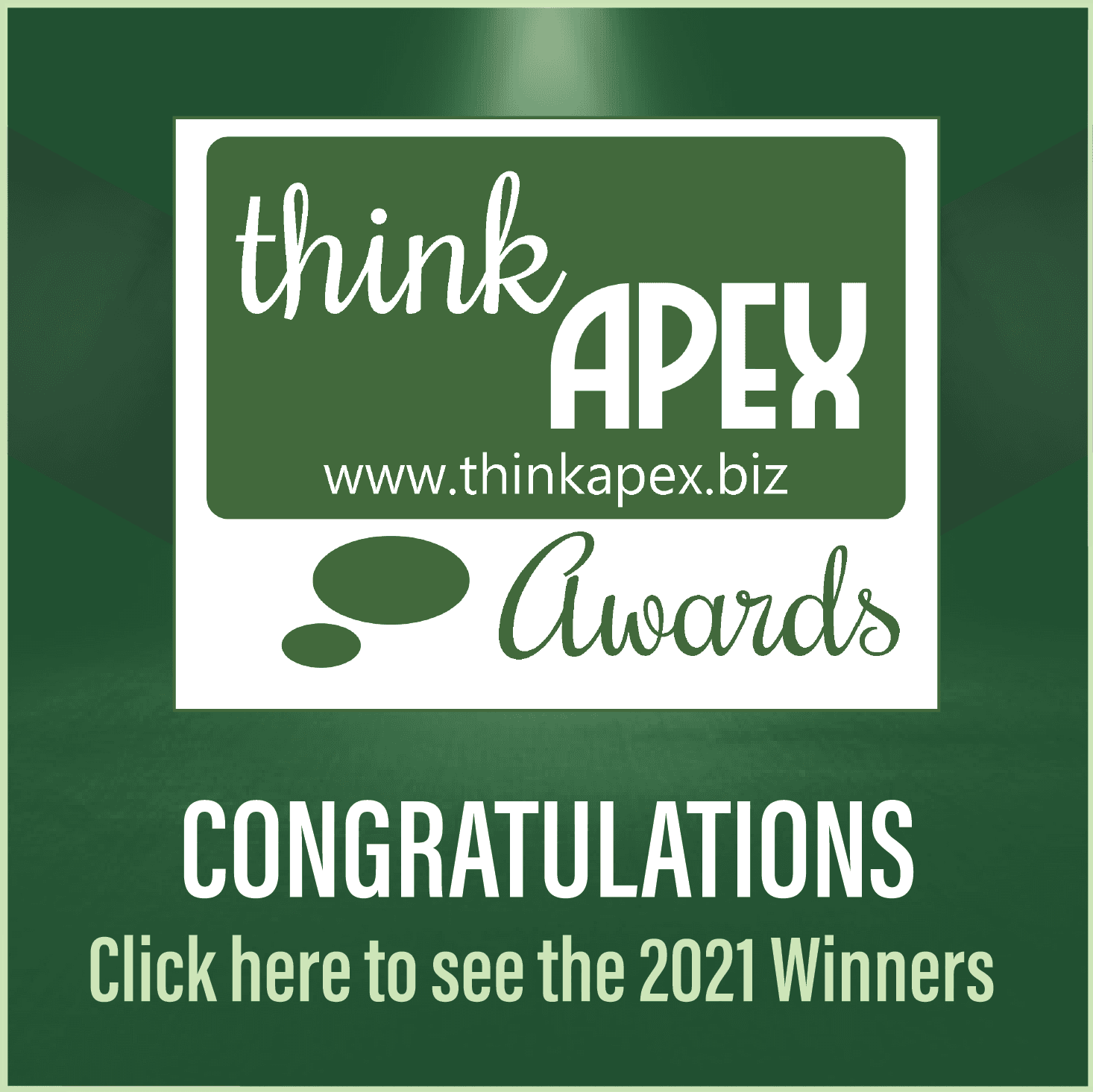 Think Apex Award Winners